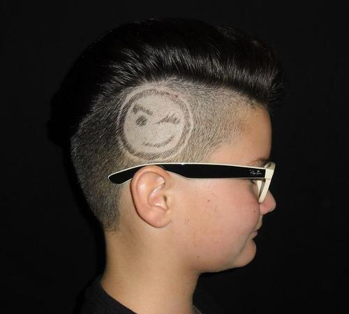 Tribal Stylings sind das Highlight für Kurzhaarfrisuren