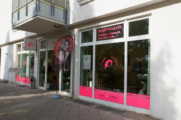 Friseur in der Wittenberger Straße