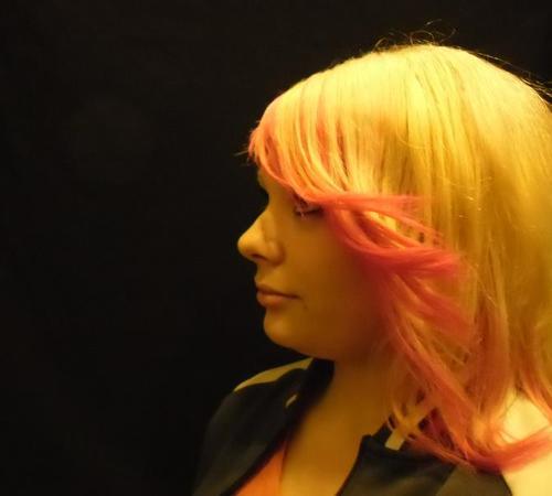 Ombré Hair mit roter Färbung
