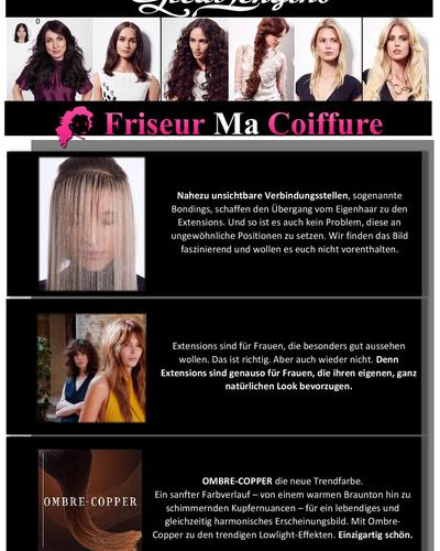 Great Lengths bei Friseur Ma Coiffure